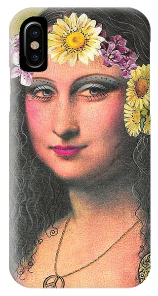 Hippie Gioconda IPhone Case