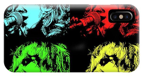 Hippie Memories Pop Art IPhone Case
