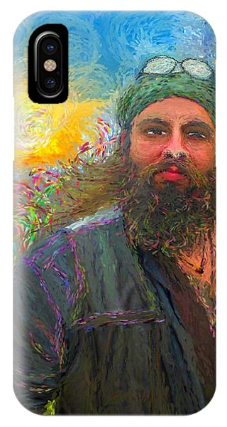 Hippie Mike IPhone Case