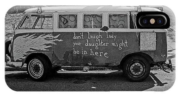 Hippie Van, San Francisco 1970's IPhone Case