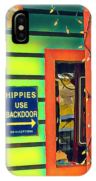 Hippies Use Backdoor IPhone Case
