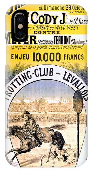 Hippodrome Du Trotting Club Levallois IPhone Case