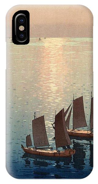 Hiroshi Yoshida, Hikaru Umi, The Sparkling Sea, 1926 IPhone Case