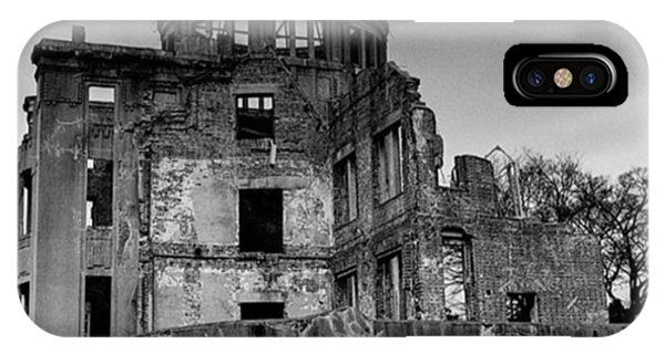 Fineart iPhone Case - Hiroshima Bomb Dome. #picoftheday by Alex Snay