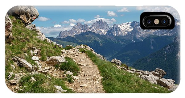 IPhone Case featuring the photograph Hirzelsteig, South Tyrol by Andreas Levi