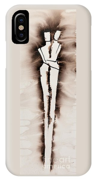 Lgbt iPhone Case - His Embrace Divine Love Series No. 1287 by Ilisa Millermoon
