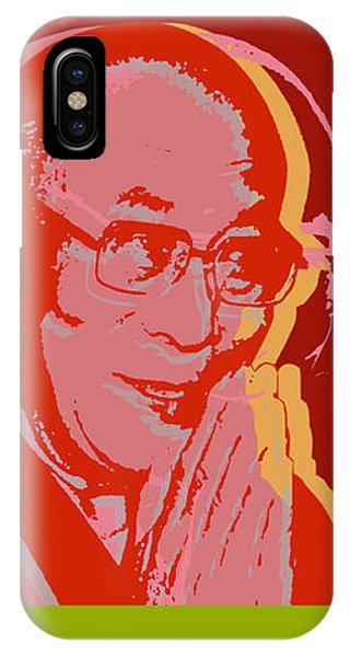 His Holiness The Dalai Lama Of Tibet IPhone Case