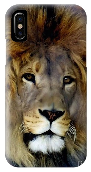 His Majesty The King IPhone Case