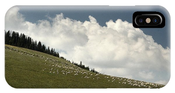 His Pastures.. IPhone Case