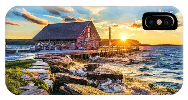 Historic Anderson Dock In Ephraim Door County IPhone Case