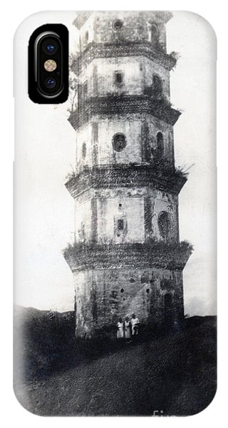 Distant iPhone Case - Historic Asian Tower Building by Jorgo Photography - Wall Art Gallery