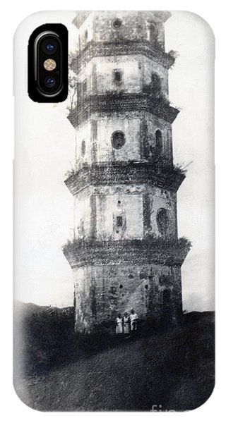 Exterior iPhone Case - Historic Asian Tower Building by Jorgo Photography - Wall Art Gallery