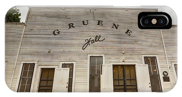 Historic Gruene Hall IPhone Case