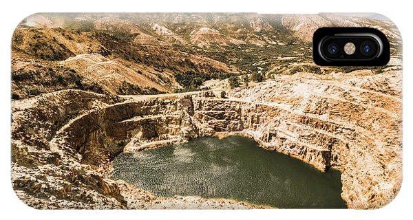 Abandon iPhone Case - Historic Iron Ore Mine by Jorgo Photography - Wall Art Gallery