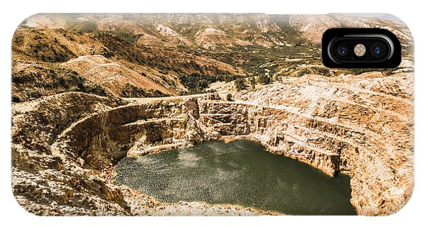 Industry iPhone Case - Historic Iron Ore Mine by Jorgo Photography - Wall Art Gallery