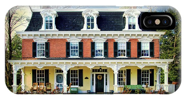 Historic Isaac Stover House  IPhone Case