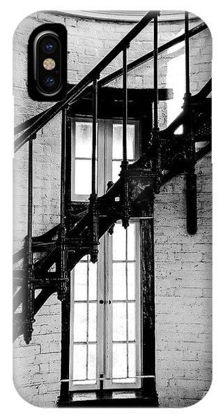 Historic Lighthouse Steps Phone Case by JMerrickMedia