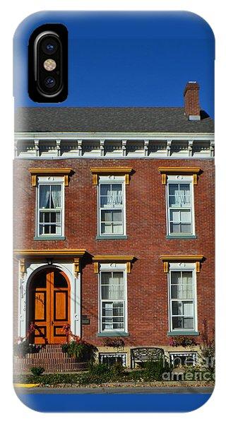 Historic Madison Row House IPhone Case