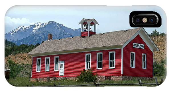 Historic Maysville School In Colorado IPhone Case