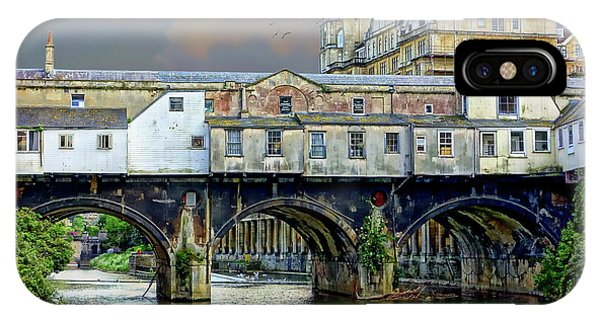 Historic Pulteney Bridge IPhone Case