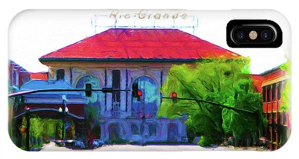 Historic Rio Grande Station IPhone Case