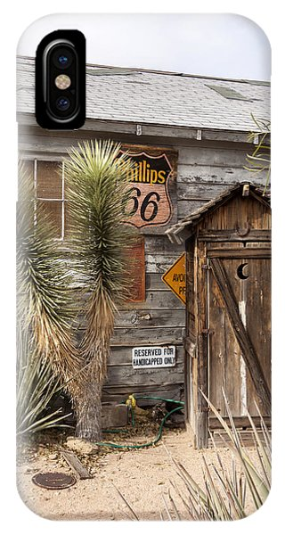 Historic Route 66 - Outhouse 1 IPhone Case