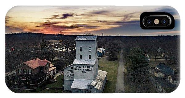 Historic Sunset IPhone Case