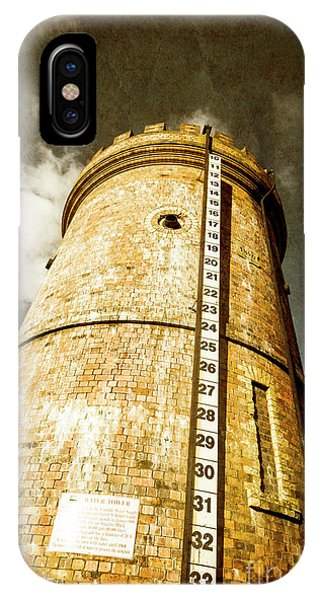 Industry iPhone Case - Historic Water Storage Structure by Jorgo Photography - Wall Art Gallery