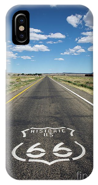 Historica Us Route 66 Arizona IPhone Case