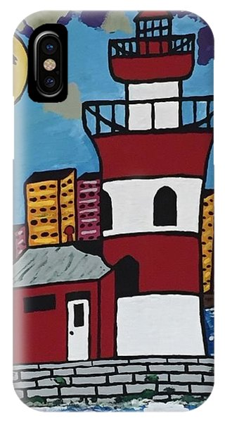 Historical Michigan Lighthouse IPhone Case