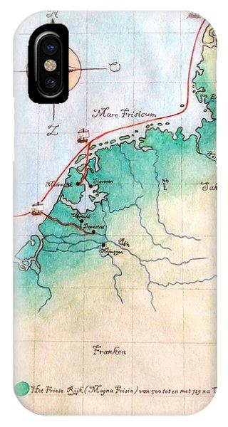 Magna Frisia- Frisian Kingdom IPhone Case