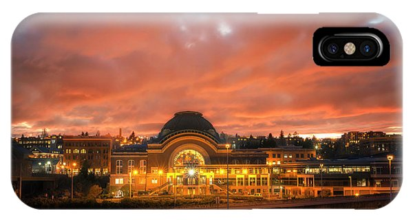 History On Fire IPhone Case