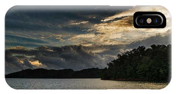 Hiwassee Lake From Hanging Dog Recreation Area IPhone Case