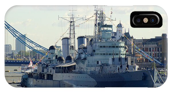 iPhone Case - Hms Belfast 7 by Chris Day