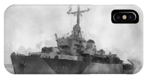 Wwi iPhone Case - Hms Cockatrice Wwii by Esoterica Art Agency