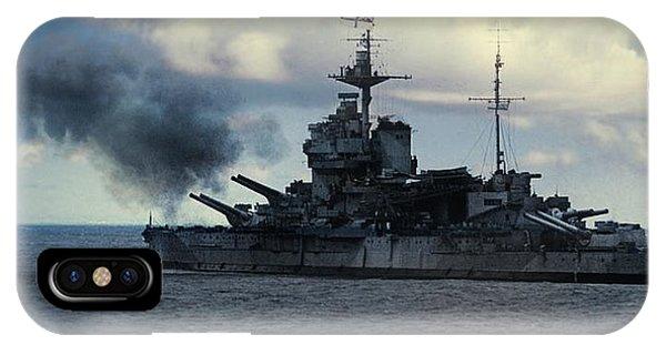 Hms Warspite IPhone Case