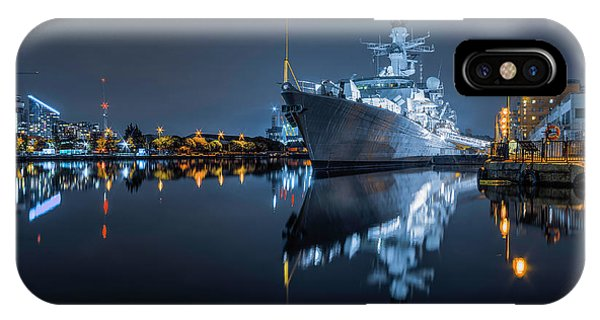 Hms Westminster IPhone Case