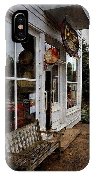 Hob Knob Corner Restaurant IPhone Case