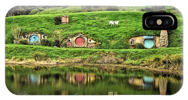 Hobbit By The Lake IPhone Case