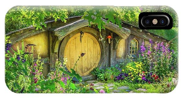 Hobbit Cottage IPhone Case