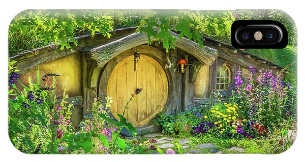 Hobbit Cottage IPhone Case