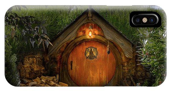 Hobbit Dwelling IPhone Case