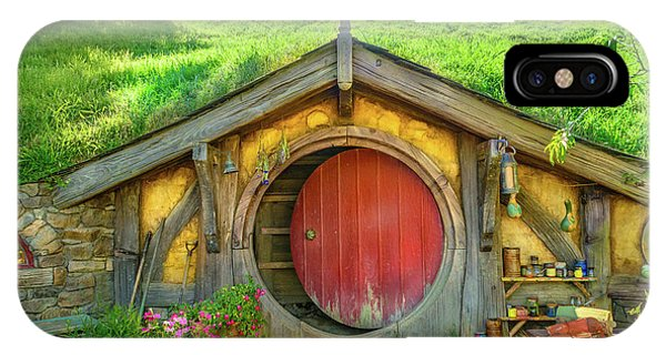 Hobbit House IPhone Case