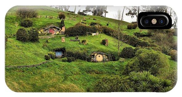 Hobbit Valley IPhone Case