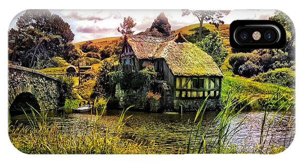 Hobbiton Mill And Bridge IPhone Case
