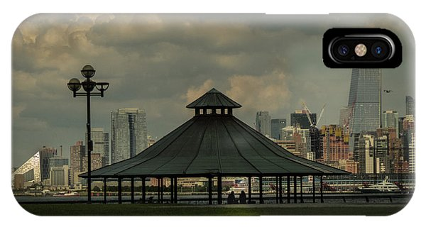 Hoboken, Nj -pier A Park Gazebo IPhone Case