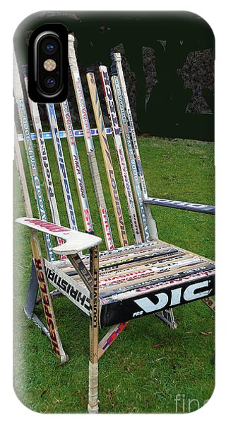 Hockey Stick Chair IPhone Case