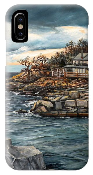 Hodgkins Cove Gloucester Ma IPhone Case