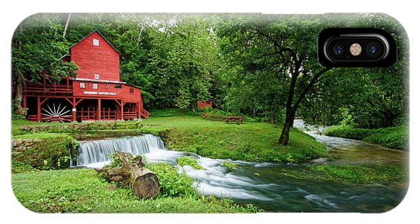 Hodgson Water Mill And Spring IPhone Case