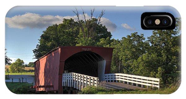 Roseman Covered Bridge IPhone Case